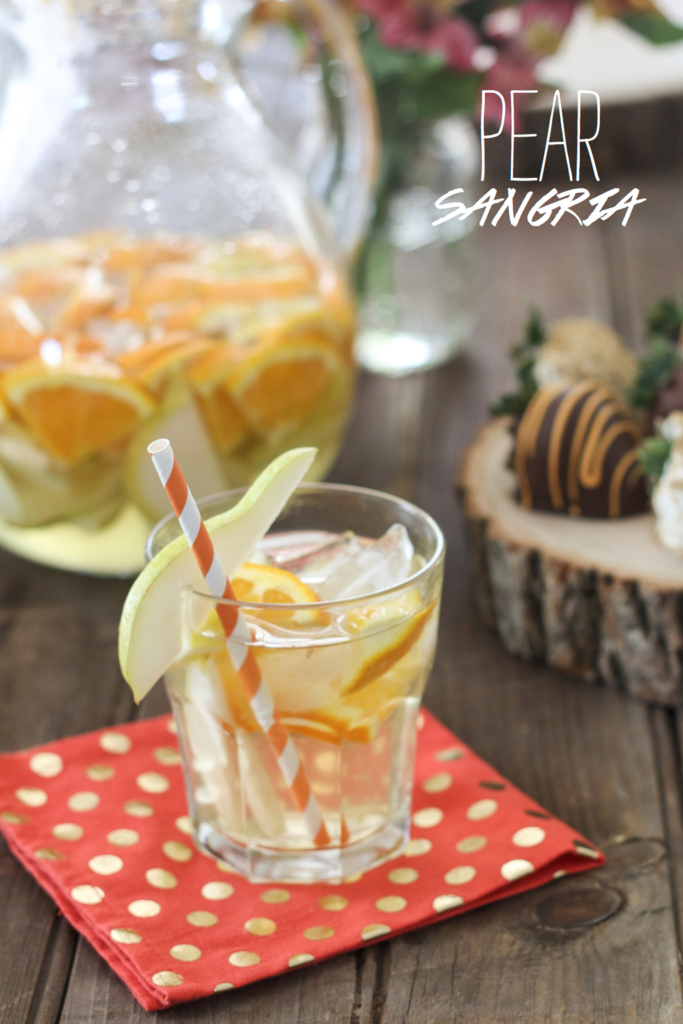 Pear Sangria | Inspired by Charm via Shari's Berries