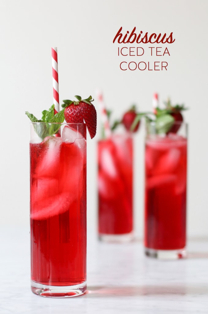 Hibiscus Iced Tea Cooler | Inspired by Charm