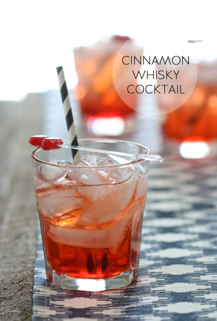 Cinnamon Whisky Cocktail   Cheers to Dad