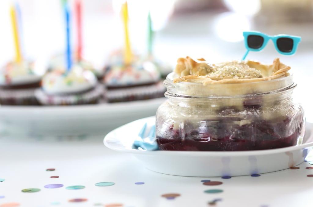 Festive Mason Jar Pie